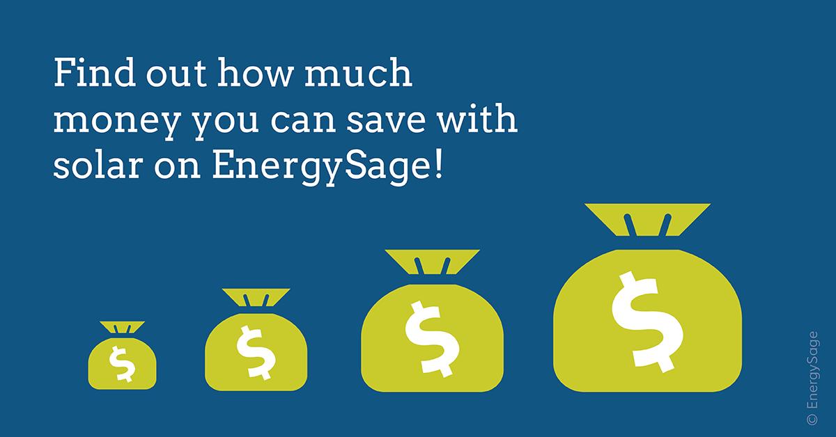 solar calculator estimate solar savings energysage
